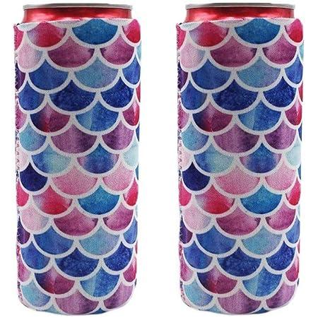 Neoprene 2 Stubby Tin Can Drinking Cooler Holder Sleeve Wedding Bridal Shower