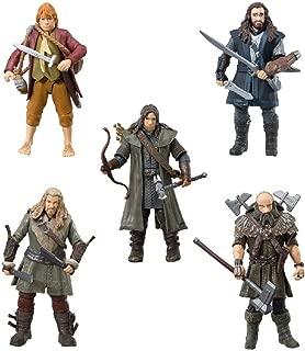 The Bridge Direct Hobbit Hero Pack - Bilbo, Thorin, Dwalin, Kili and Fili 3.75
