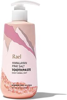 Rael Himalayan Pink Salt Toothpaste - Natural, Vegan, Paraben-Free, Anti-Cavity, Fresh Breath, Oral Care (S...
