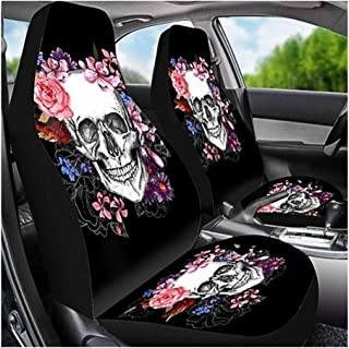 DKX Universal Animal Printing Car Seat Cover for SUV Car Interior Decor Animal Pattern Auto Seat Cover Car Seat Protector ...