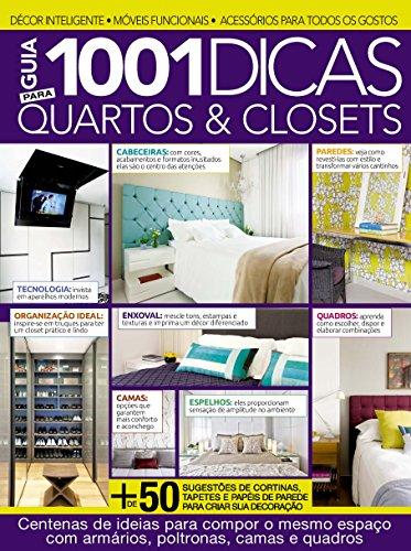 Guia 1001 Dicas Para Quartos & Closets Ed.01 (Portuguese Edition)