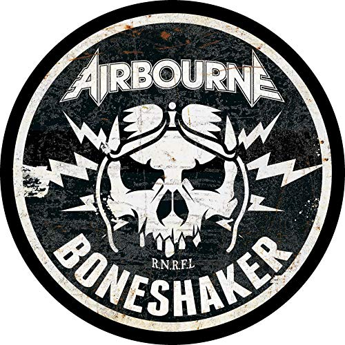 Airbourne Boneshaker Back Patch XLG 12 inch