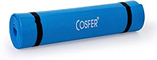 Cosfer 6,5 mm Pilates ve Yoga Minderi Turkuaz