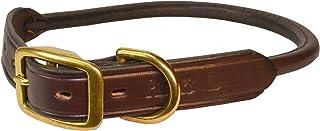 Perri's Havana Rolled Leather Dog collar