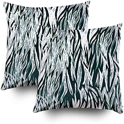 Sonder-Shop Joy kussensloop dier zebra tribal betegeld afdrukken wild herhalen sjabloon tribal textuur Zebra huid Prim gooien kussen