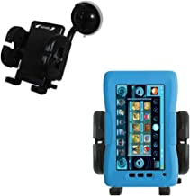 Windshield Mount compatible with KD Interactive Kurio Touch 4S for the Car / Auto - Flexible Suction Cup Cradle Holder for the Vehicle