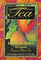 Hawaiian Islands Tea Company(ハワイ・アイランド・ティー・カンパニー) マンゴー・マウイ(紅茶) 20P(36g)×6個(1ケース) [正規輸入品]
