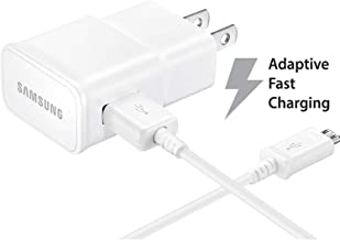 Samsung Galaxy Tab A 9.7 Adaptive Fast Charger Micro USB 2.0 Cable Kit! [1 Wall Charger + 5 FT Micro USB Cable] Adaptive F...