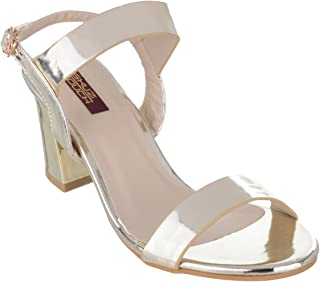 Shuz Touch Golden Sandal