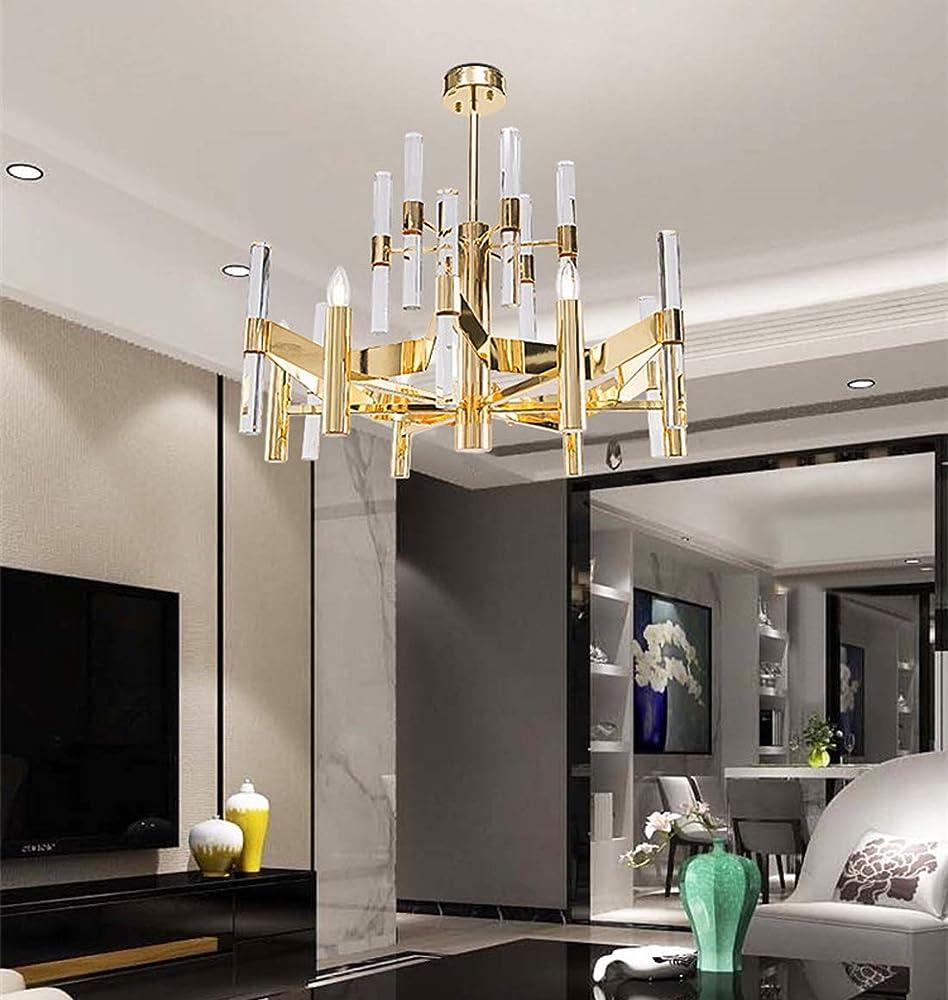 Kuandar chandelier,lampadario di cristallo di lusso, led RYYABC200