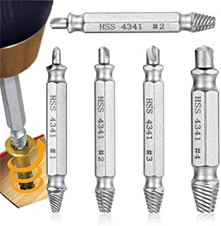 WEI-LUONG Screw 4pcs Conical Hex Shank Countersink Drill Woodworking Drill Bit Drilling Set Drill Color : 1pc