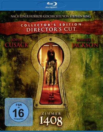 Zimmer 1408 [Blu-ray] [Director\'s Cut] [Collector\'s Edition]