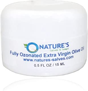 Nature's Salves and Soaps 100% Fully Ozonated Organic Extra Virgin Olive Oil