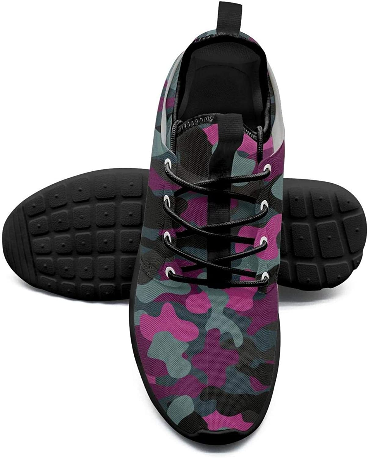 Gjsonmv Pink Digital camo Military mesh Lightweight shoes Women Summer Sports Cycling Sneakers shoes