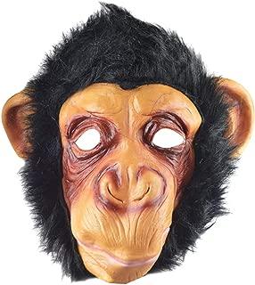 Halloween Masks,Halloween Face Mask,Halloween Monkey Mask Funny Animal Party Costume Head Fancy Props