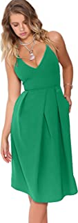 Best spaghetti strap dress with pockets Reviews