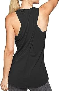Sexyshine Women's Cross Back Sleeveless Yoga Shirt Activewear Workout Racerback Yoga Tank Camis Tops