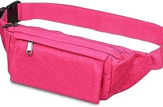 Waist Bag,Soft Polyester Water Resistant Waist Bag,Pack for Man Women,Fashion Waist,Purse