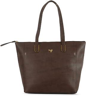 Baggit Women's Synthetic Tote Bag (Brown) (L Baelfire)