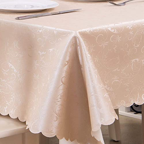 nueva marca WENYAO PU Tablecloth Waterproof Oil-Proof Anti-Hot rectangHousehold rectangHousehold rectangHousehold Hotel Restaurant Tablecloth Tea tabmat,G_100100cm  bienvenido a orden