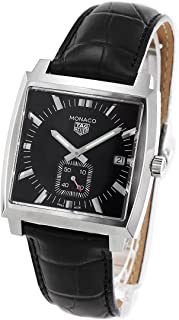 タグホイヤー モナコ アリゲーターレザー 腕時計 メンズ TAG Heuer WAW131A.FC6177[並行輸入品]