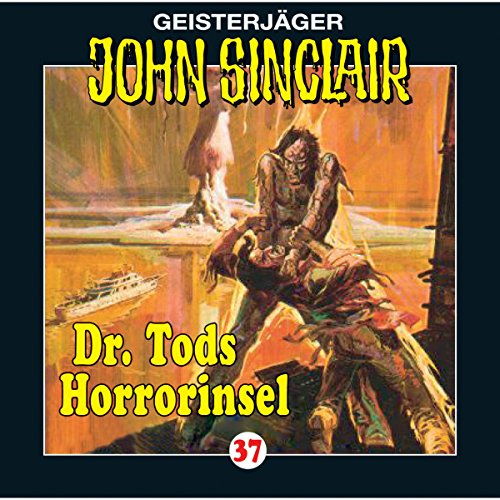 Dr. Tods Horror-Insel cover art