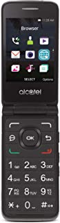 Tracfone Carrier-Locked Alcatel MyFlip 4G Prepaid Flip Phone- Black - 4GB - Sim Card Included – CDMA