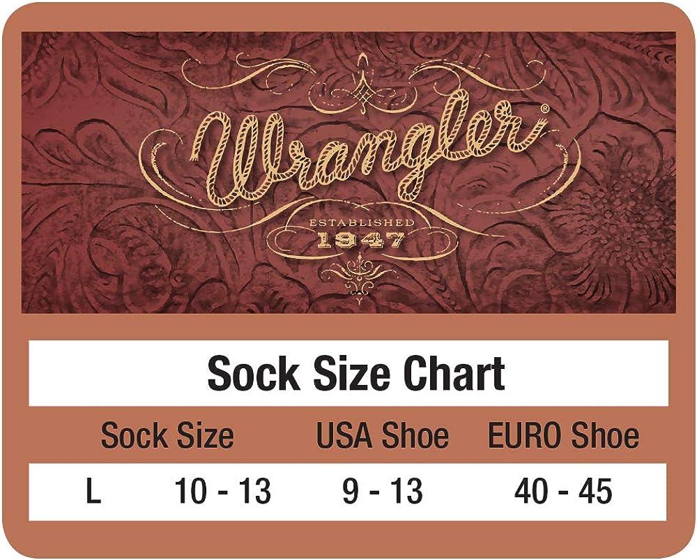 Wrangler mens Riggs Workwear Over the Calf Work Boot Socks 4 Pair Pack