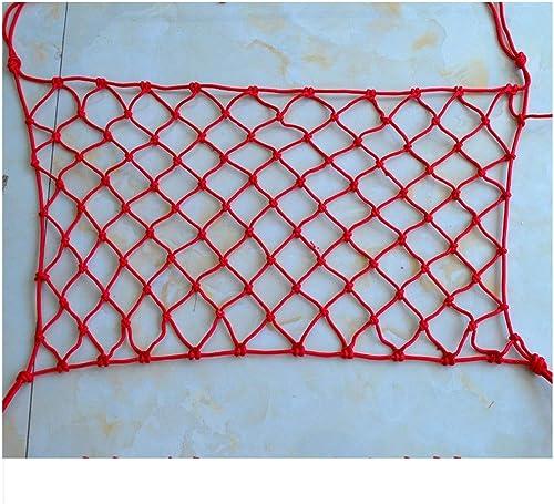Décoration De Jardin, Filet De Prougeection D'escalier Filet Rouge Corde Filet Filet De Sécurité Pour Enfants Filet De Tissage Filet D'escalade Hamac Swing Net 2m3m5m6m ( Taille   410M(1333ft) )