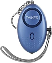 Taiker Personal Alarm for Women, 140DB Emergency Self-Defense Security Alarm Keychain with LED Light for Women Kids and Elders (Blue)