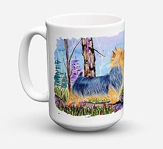 Caroline's Treasures SS8678CM15 Norwich Terrier Dishwasher Safe Microwavable Ceramic Coffee Mug 15 ounce, 15 ounce, multic...