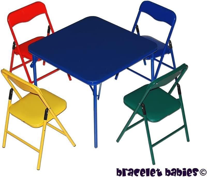 Bracelet Babies Children S Folding Table Folding Chairs Furniture Set
