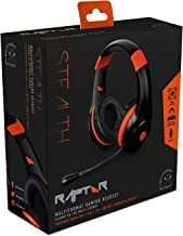 Stealth Raptor Multi-Format Gaming Headset for PlayStation PS4/Xbox One/PC/Nintendo Switch/Mobile/Tablet - Black/Orange
