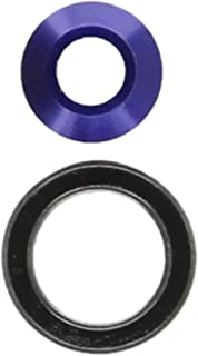 Traxxas 6893X Blue-Anodized Aluminum Bearing Adapter (with bearing)