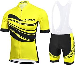 Light Velocity Santic Pantaloncini Ciclismo Uomo Imbottiti Pantaloncini Bici Uomo Pantaloncini Bicicletta
