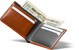 Bellroy Low Wallet (Thin Leather Bifold Wallet, Low Profile, Holds 4-12 Cards, Flat Note Storage, Hidden Pocket For Extra ...