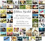 Set di 50 cartoline di alta qualità, per allenare la comunicazione, per giochi di convers...