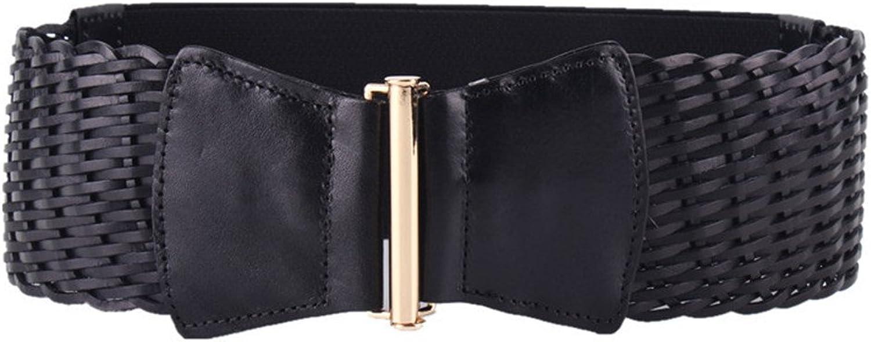 Canvas Belt Women's Belt Pure Leather Accessories Waist Belt Width Lady's Belt Female Retro Elastic Belt