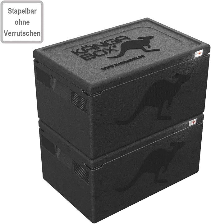 KÄNGABOX Professional. La Caja isotérmica con un Interior Liso y Tapa Cerrando Perfectamente.: Amazon.es: Deportes y aire libre