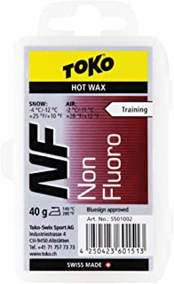 Toko Non Fluorinated WAX RED -4 to -12 degrees (40gm)