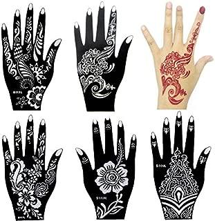 henna design templates for hands