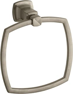 Kohler K-16254-BV Margaux Towel Ring, Vibrant Brushed Bronze