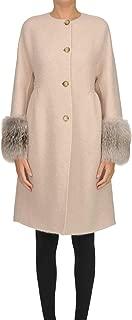 Ermanno Scervino Luxury Fashion Womens MCGLCSC000006004I Pink Coat   Season Outlet