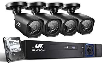 UL-TECH CCTV Camera Security System 8CH DVR 1080P Cameras Outdoor Day Night