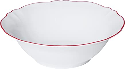 Preisvergleich für Bitossi Home PAR217 Salatschüssel, 26 cm, Parisienne-Linie, Rot