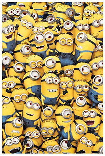 Army of Minions Fleece Blanket Bed Throw