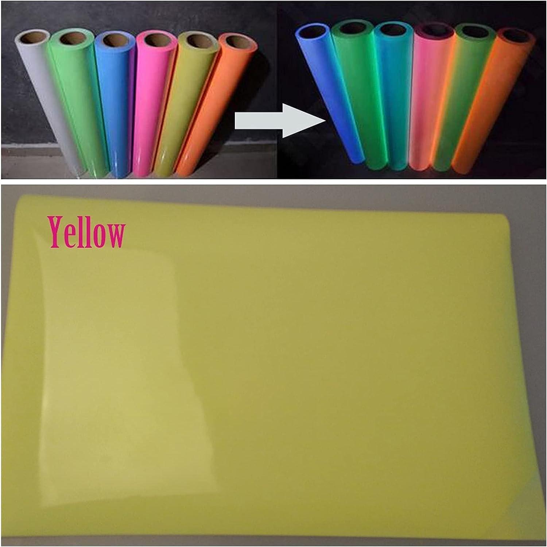 Cheap SALE Start Printable Heat Transfer Luminous sold out Glow Vinyl