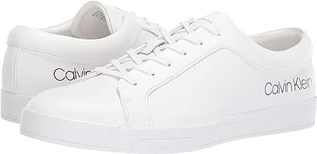 Calvin Klein Men's Bevan Smooth Calf Leather Ankle-High Sneaker
