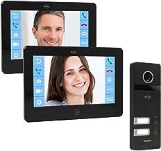 ELRO PRO PV40 Full HD Video Deur Intercom Systeem - 2 Appartementen - met Voicemail functie - 13 Beltonen