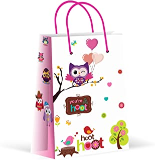 Premium Owl Party Bags, Party Favor Bags, New, Treat Bags, Gift Bags, Goody Bags, Party Favors, Party Supplies, Decorations, 12 Pack